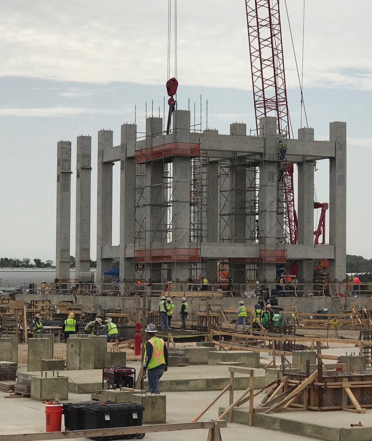 Tindall Corporation Petrochemical Industrial Precast Concrete Dow Chemical Company Freeport Texas