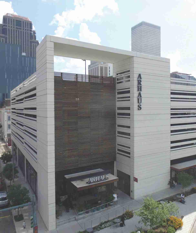 Tindall Corporation Parking Deck Precast Concrete The Park at South Market New Orleans Louisiana