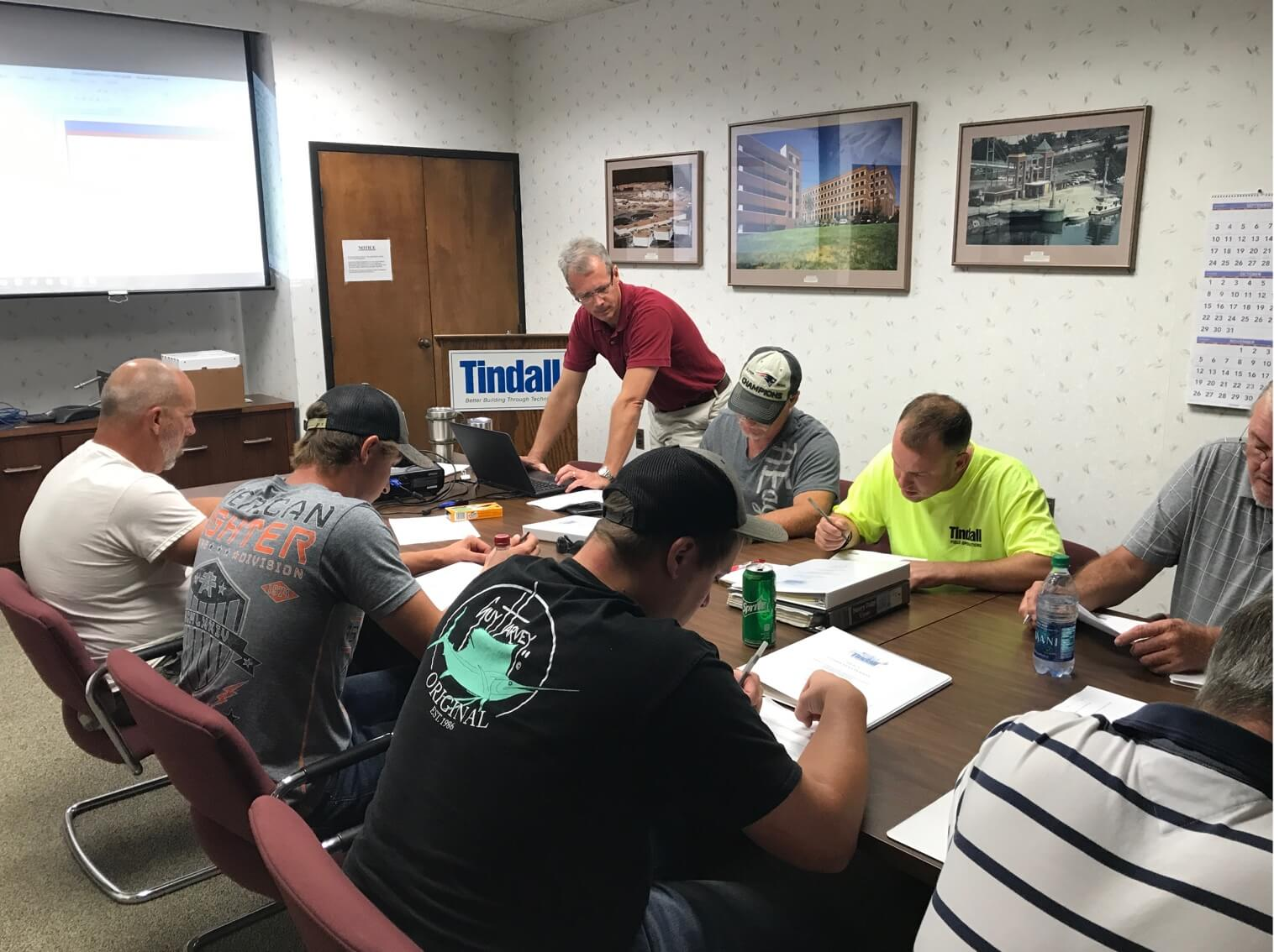 Tindall Precast Safety Meeting