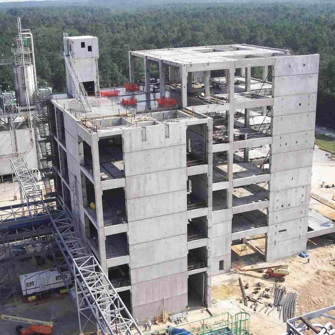 Tindall Corporation Industrial Precast Concrete Voridian Chemical Plant Columbia South Carolina